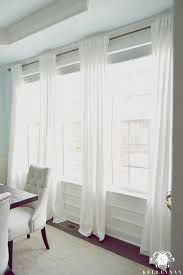 kelley nan the favorite white budget friendly curtains ikea ritva panels the
