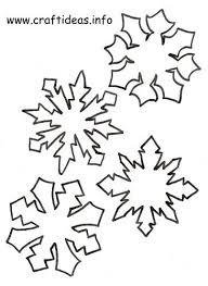 Christmas_Craft_Patterns_ _Snowflake_Set_3_500 paper snowflake pattern downloads (3 of them) christmas on 3 7 8 inch printable template