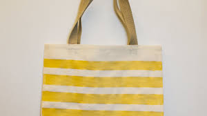 how to create a simple painted canvas tote bag diy style tutorial guidecentral you