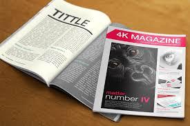 Free Magazine Template For Microsoft Word 030 4k Magazine Free Magazines Cover Templates Template