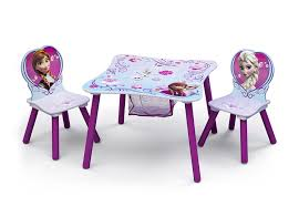 table and chairs for kids. amazon.com: delta children table and chair set with storage, disney frozen: baby chairs for kids