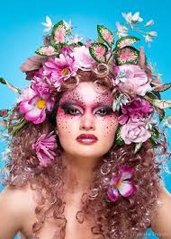 flower greenery ideas for color etc for hair