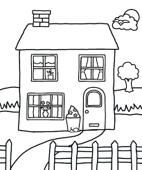Printable House Coloring Pages Up House Coloring Pages Up House
