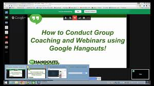 Its main window shows the list of chats you had recently. How To Screenshare In A Google Hangout Youtube