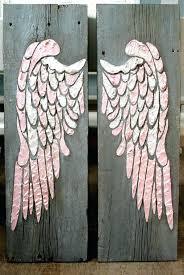 wall arts angel wings wall art wing decor within nursery scul