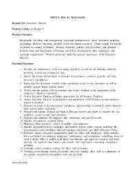 Fha - Maintenance Supervisor & Office Manager Draft Update Dec 2014