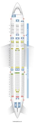 Airbus A330 Seating Chart Seat Map Hawaiian Airlines Airbus A330 200 Unbiased 332