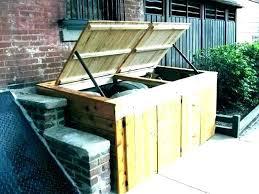outdoor garbage can enclosure trash can enclosure fence outdoor garbage can storage bin vinyl fence garbage