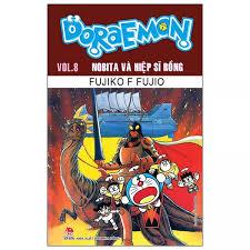 Fahasa - Doraemon Truyện Dài - Tập 8 - Nobita Và Hiệp Sĩ Rồng (Tái Bản 2019)