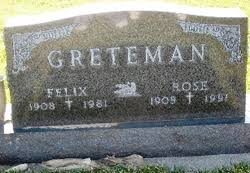 Felix Lawrence Greteman (1908-1981) - Find A Grave Memorial