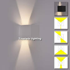 led sconce 2018 ip65 cube adjule style hotel modern led box wall sconce indoor outdoor led