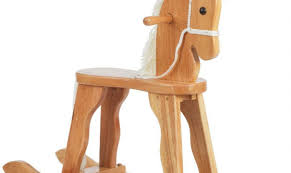 wooden rocking horse sandy a lovely traditional style rocking