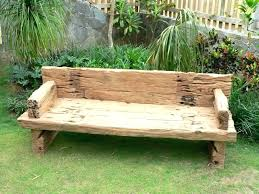 luxury wooden patio bench or rustic outdoor furniture tables is the curved garden plans stone diy