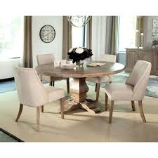 Small Round Glass Table And Chairs Dining Room Solid Wood Round
