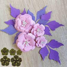 <b>5pcs</b> 76x86mm <b>Flower</b> Stitched <b>metal Cutting</b> dies Christmas New ...