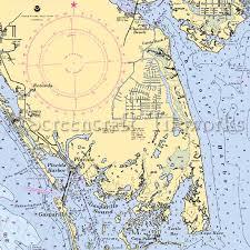 Sarasota Bay Nautical Chart Decorative Nautical Charts Iron Blog Decorative Nautical