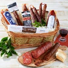sausages of spain gift basket logo