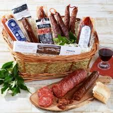 sausages of spain gift basket logo