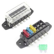 car fuses fuse boxes fuse box 6 way for standard blade fuses ato holder block 12v or 24v car