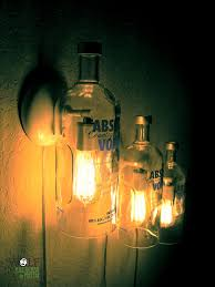 Glass Bottle Lamps Lighting 39 Recycled Wine Bottle Lamps Recycled Lamp Art