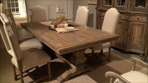 dining room sorella rectangular trestle dining table by furniture home wood room astounding with glass