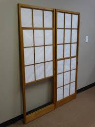 Japanese shoji doors Window Lot 1237 Two Japanese Shoji Doors Two Japanese Shoji Doors