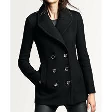 pea coats for women black wool pea coat womens pea coats for women
