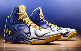 under armour shoes stephen curry gold. stephen curry\u0027s under armour anatomix spawn \u0027the bay\u0027 shoes curry gold v