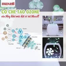 Cơ chế diệt khuẩn, khử mùi vượt trội của máy khử mùi nhà vệ sinh Ozoneo  Aero Maxell MXAP-AE270