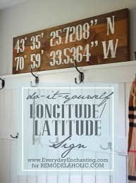 Cute Home Decor Signs The Images Collection of Longitudelatitude sign funny top funny 2