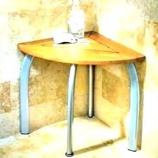 corner shower chair wood seat plastic stool teak bench from the spa stools for elderly