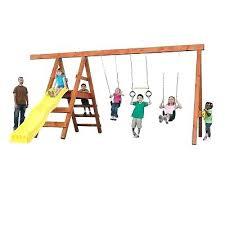 diy playset kit custom play swing set hardware backyard outdoor kids w o wood build
