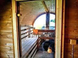 Sauna Exterieur Avec Poele ...