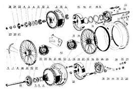 jawa moped jmmw12 front brake cover complete includes built in presumed working but it is technically as is parts diagram this parts diagram explains how this part fits into the jawa 210 moped wheels