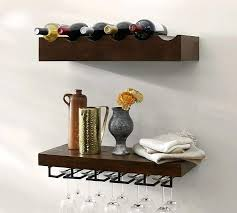 rustic wood wall shelves rustic wood entertaining wine glass shelf mahogany stain rustic wood and metal rustic wood wall shelves