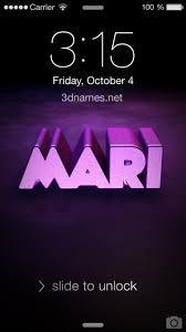 preview of big purple for name mari
