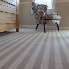 striped bedroom carpet in one of our bedrooms