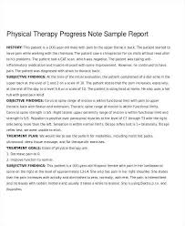 Progress Notes Session Template Psychology Examples