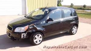 2009 Chevrolet Aveo LT Hatchback - Repairable vehicle from ...
