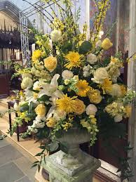 Easter Floral Design Ideas Easter Pedestal Church Flower Arrangements Flower