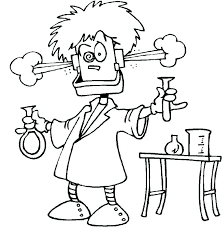 Chemistry Coloring Pages Free Science Coloring Pages Page Scientist