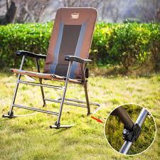 com timber ridge smooth glide lightweight padded folding rocking chair 300lbs sports