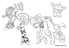 disney coloring pages toy story 3