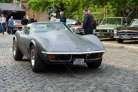 BERLIN - MAY 11 Sport Car Chevrolet Corvette C3 Stingray ...