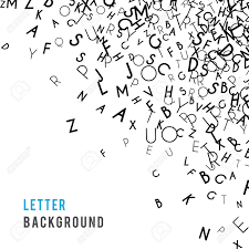 Letter World Letters Abstract Background Composition International Day Of