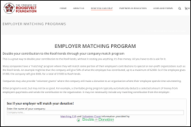 matching gifts dedicated matching gift page roosevelt middle