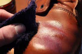 get a thin layer of wax over the entire boot