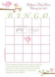 Blank Bingo Card Template Microsoft Word New Pretty Baby Bingo