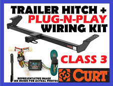 nissan titan towing hauling curt trailer hitch vehicle wiring harness fits 04 11 nissan titan 13199 56515
