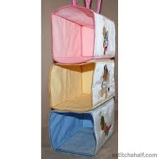hanging closet organizer. Baby Hanging Closet Organizer - Astitchahalf